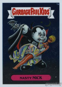 Nastiness Of The Vampire Kind Garbage Pail Kids Garbage Pail Kids Cards Cards