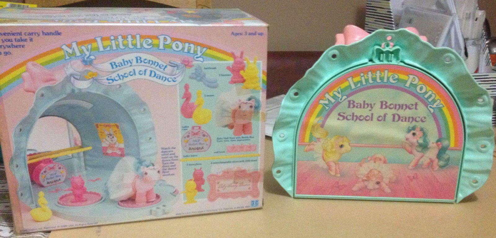 Vintage My Little Pony Playset Dance Studio Vintage My Little Pony Pony My Little Pony