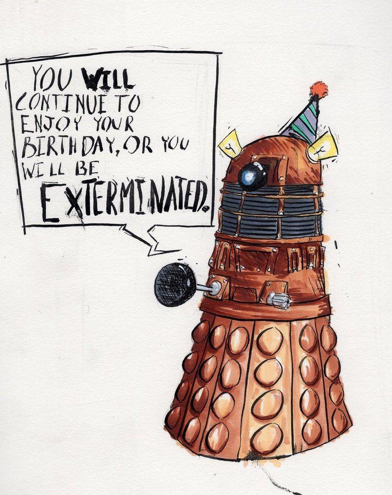 Doctor Who Birthday Dr Who Birthday Card Birthday Humor