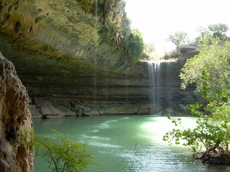 McKinney Falls State Park: What a pretty place  It's not all cactus