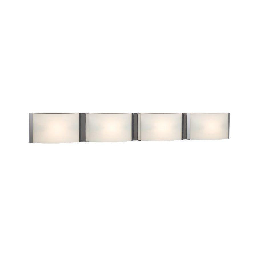 Galaxy Triton 4 Light 5 In Chrome Rectangle Vanity Bar Bathroom