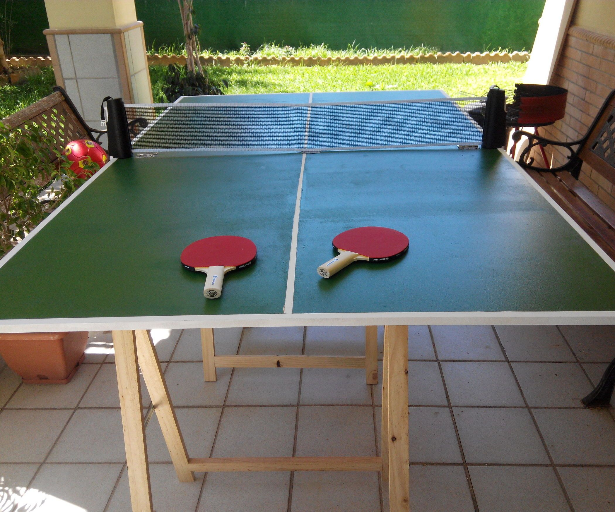 Easy Folding Ping Pong Table Folding Ping Pong Table Ping Pong Table Ping Pong Table Diy