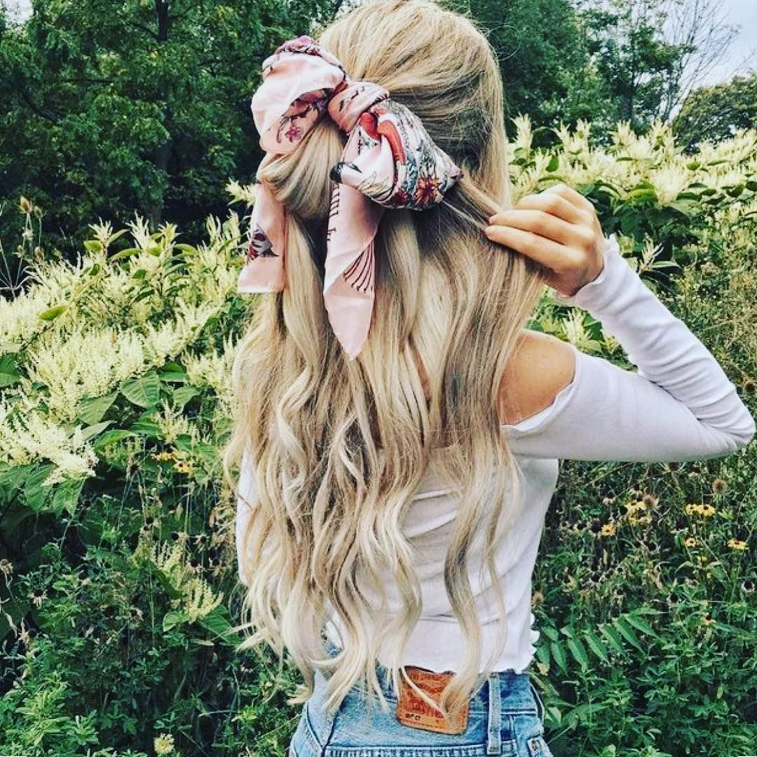 cute half updos for when you cannot decide how to wear your hair