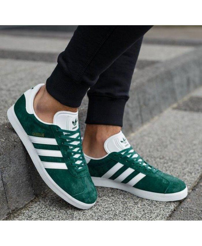 adidas gazelle dunkel grün