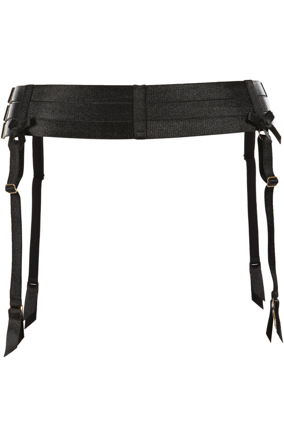 7109ff0cd850f Женский черный пояс для чулок BORDELLE — купить за 18300 руб. в интернет- магазине