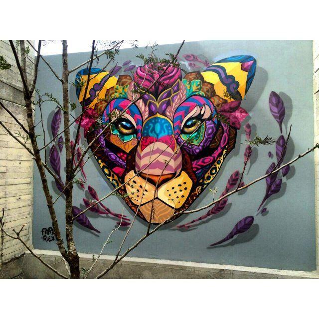 Farid Rueda En San Luis Potosi Mexico Sanluispotosi Graffiti