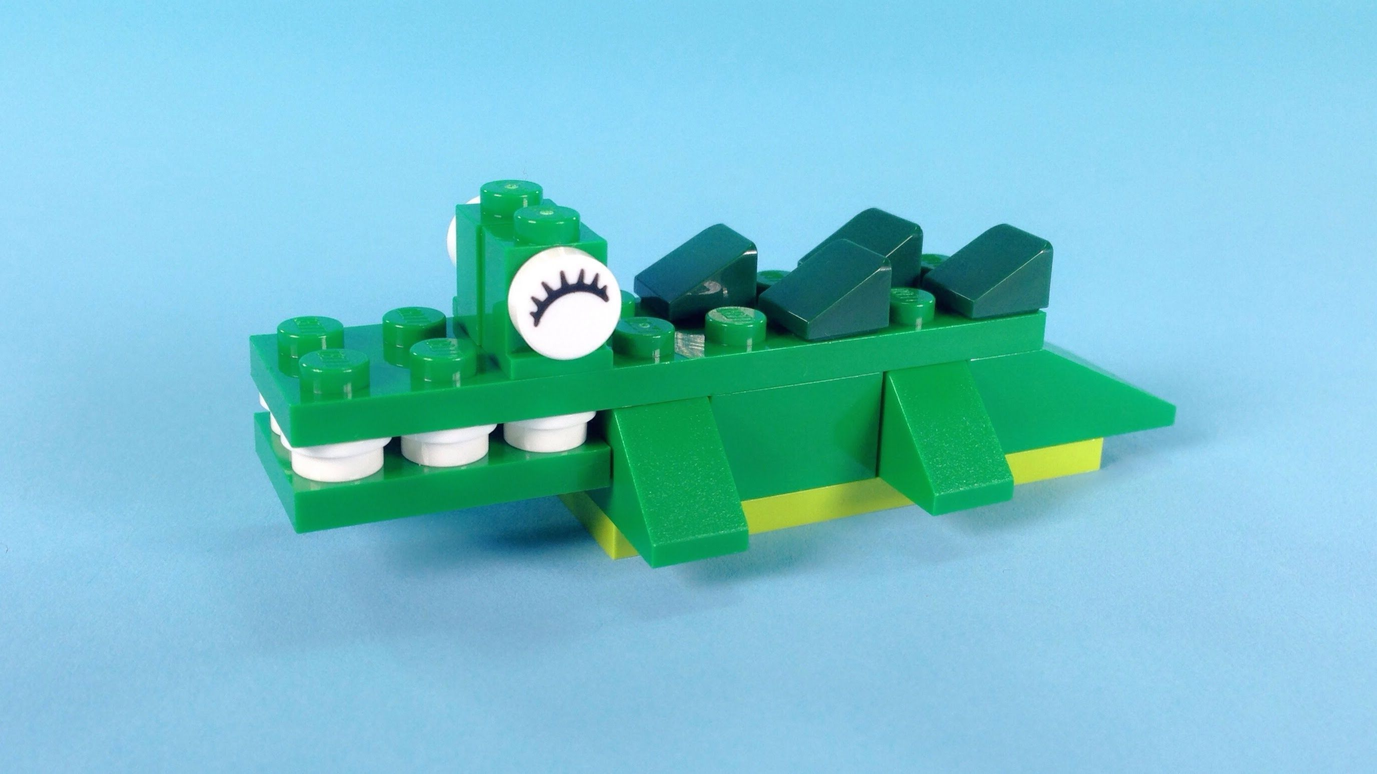 Lego Crocodile Building Steps   Lego Classic 10696  How To    Lego     Lego Crocodile Building Steps   Lego Classic 10696  How To