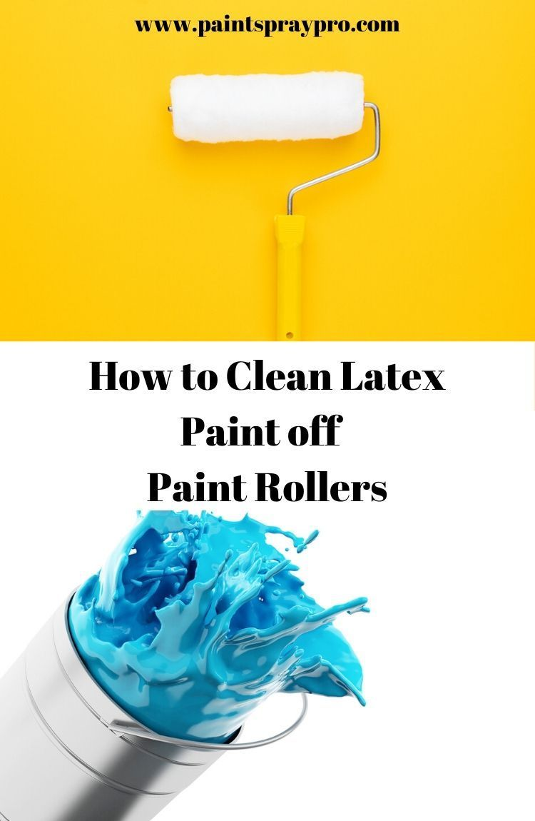 How to Clean Paint Brushes and Rollers Cleaning paint