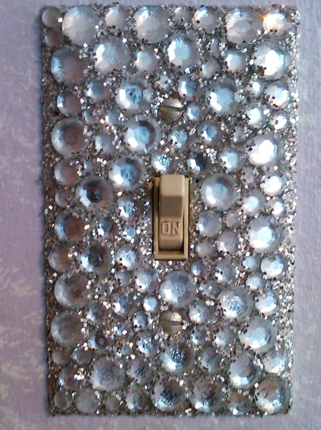 Bejeweled light plate.