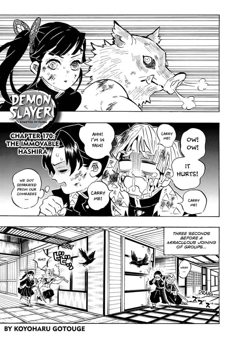 Yuk, kenalan dengan 9 hashira dalam anime demon slayer: Kimetsu no Yaiba Vol.TBD Chapter 170: The Immovable ...