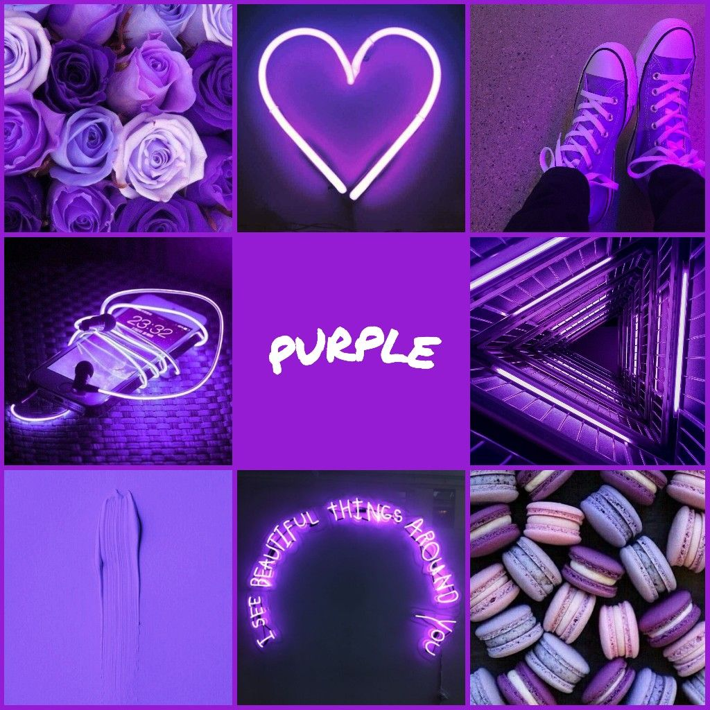 Purple Aesthetic Purple Aesthetic Color Therapy Aesthetic Iphone Wallpaper