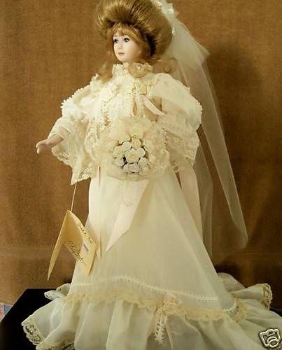 Classic Vintage Bride Doll Isabel