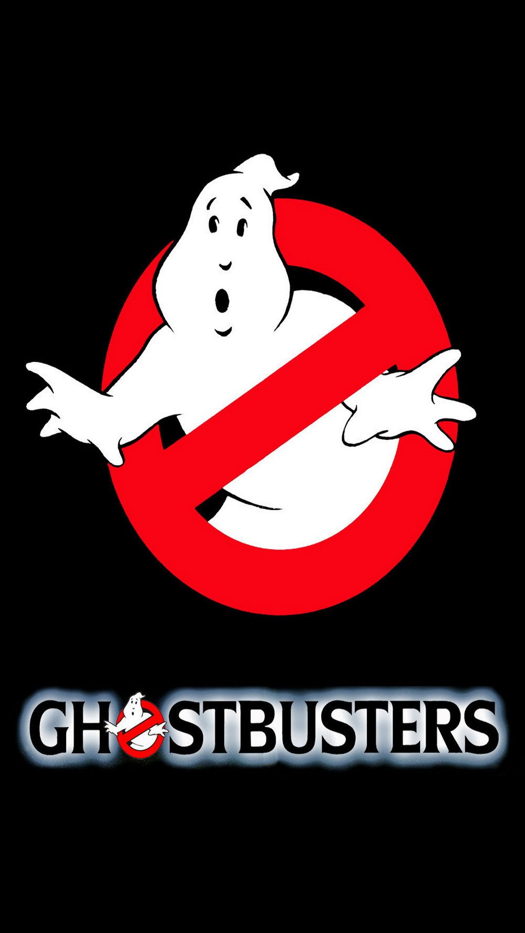 ↑↑TAP AND GET THE FREE APP! Movies Ghostbusters Logo Black Dark ...