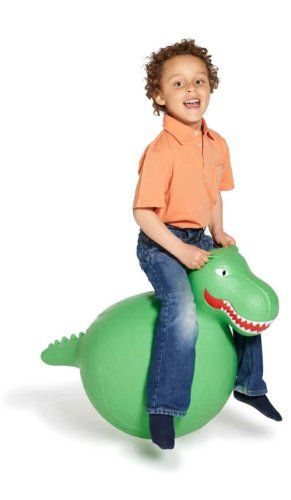 Amazon Toy Coolest New Hippity Hop Balls Hilarity Hoppers T Rex