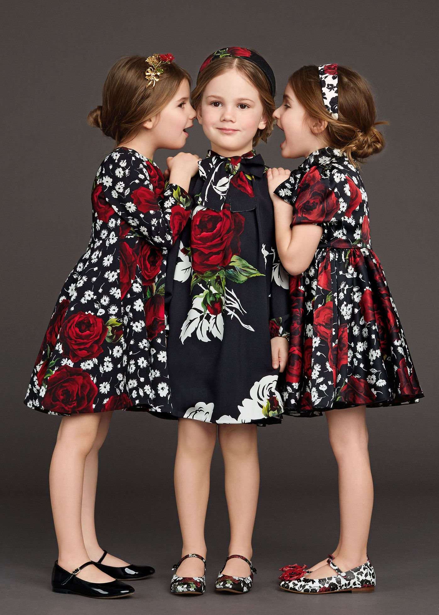 0eba723c3 Dolce   Gabbana Children Winter Collection 2016. Dolce   Gabbana Children  Winter Collection 2016 Vestidos De Niñas Casuales