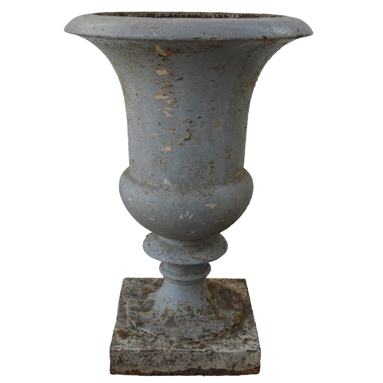 Antique 19th Century French Cast Iron Medici Urn. Modern PlantersGarden ...