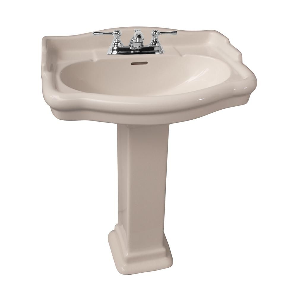 Barclay Products Stanford 600 23 1 2 In Pedestal Lavatory Combo