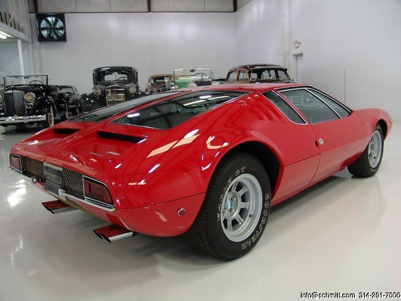 DANIEL SCHMITT & CO CLASSIC CAR GALLERY PRESENTS: 1969 DE TOMASO ...