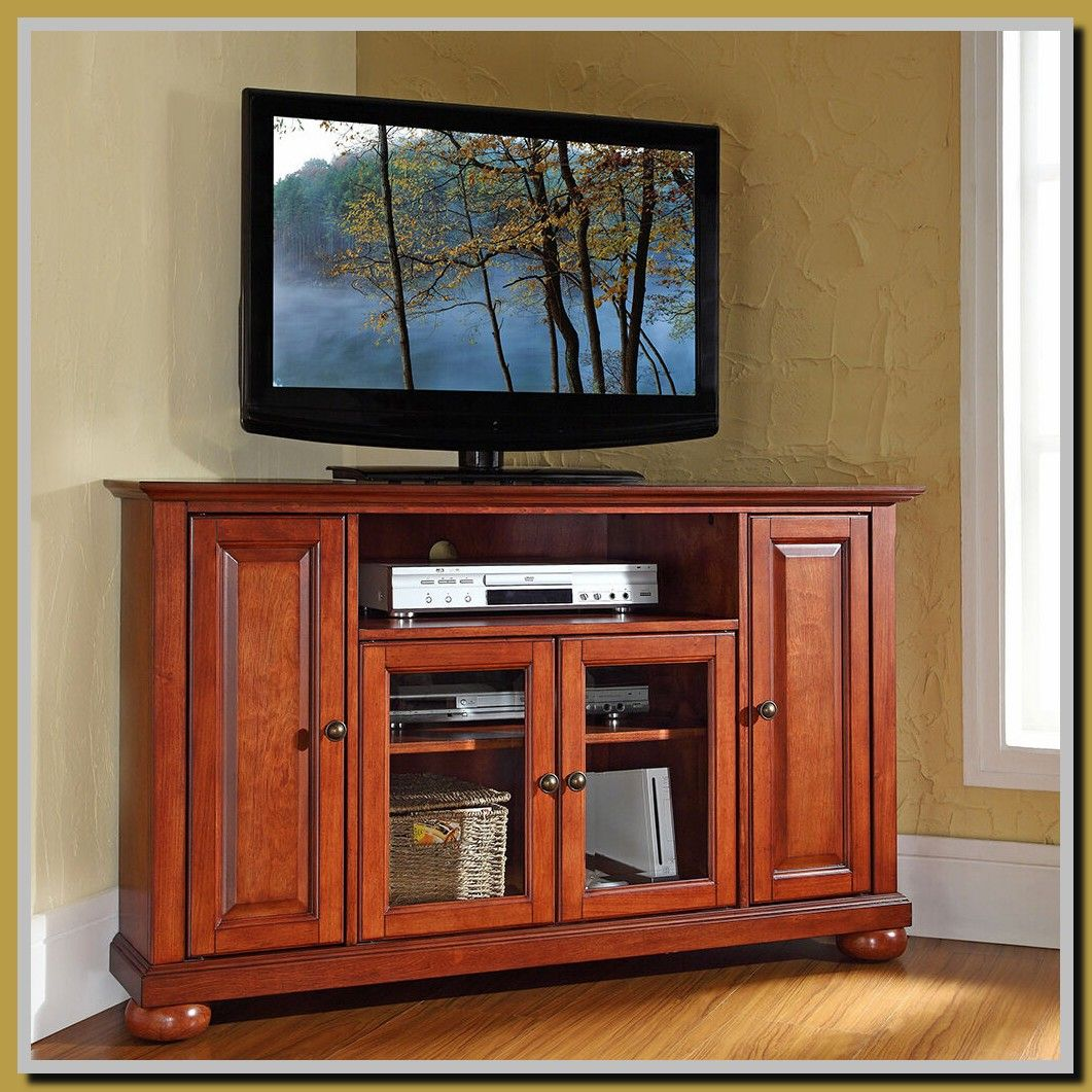56 Reference Of Tv Stand With Mount Cherry In 2020 Corner Tv Stand Tv Stand Cheap Entertainment Centers