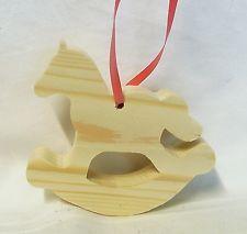 baumschmuck holz schaukelpferd pferd christbaumschmuck landhaus weihnachtsdeko weihnachtsdeko. Black Bedroom Furniture Sets. Home Design Ideas