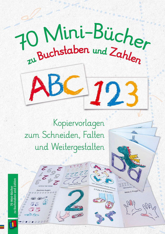 70 Mini-Bücher zu Buchstaben und Zahlen in 2018 | Educational ...