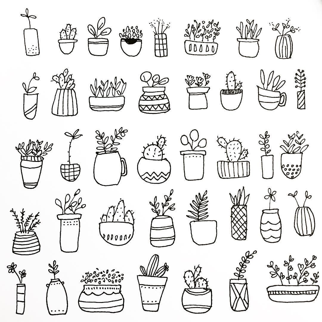 No Photo Description Available Plant Doodle Doodle Coloring Plant Drawing