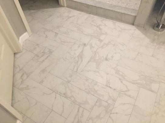 matte porcelain floor and wall tile