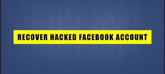 recover facebook hacked account | No problem if Email and