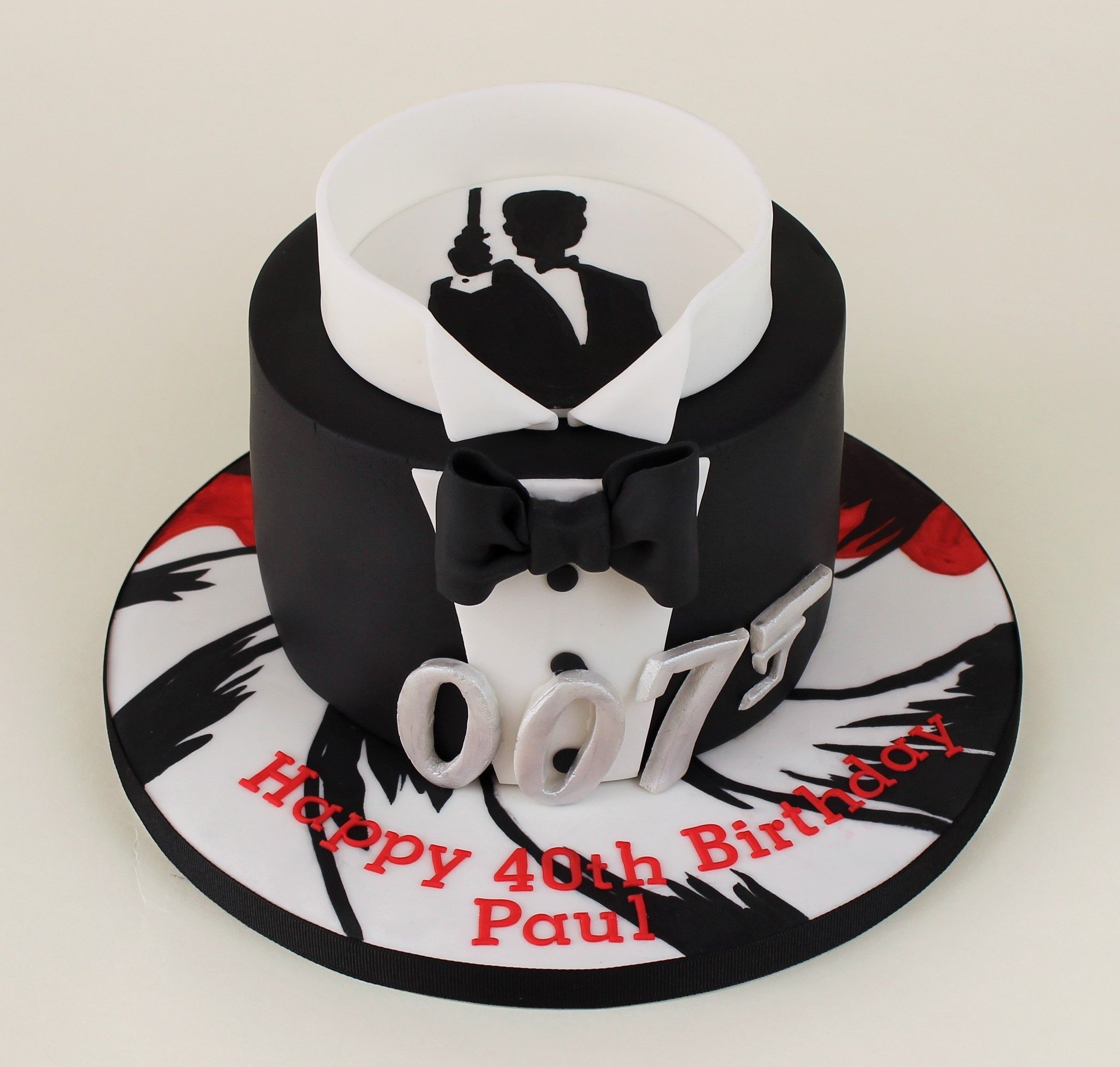 James Bond Birthday Cakes For Him