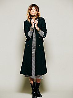 Sergeant At Arms Maxi Coat in whats-new