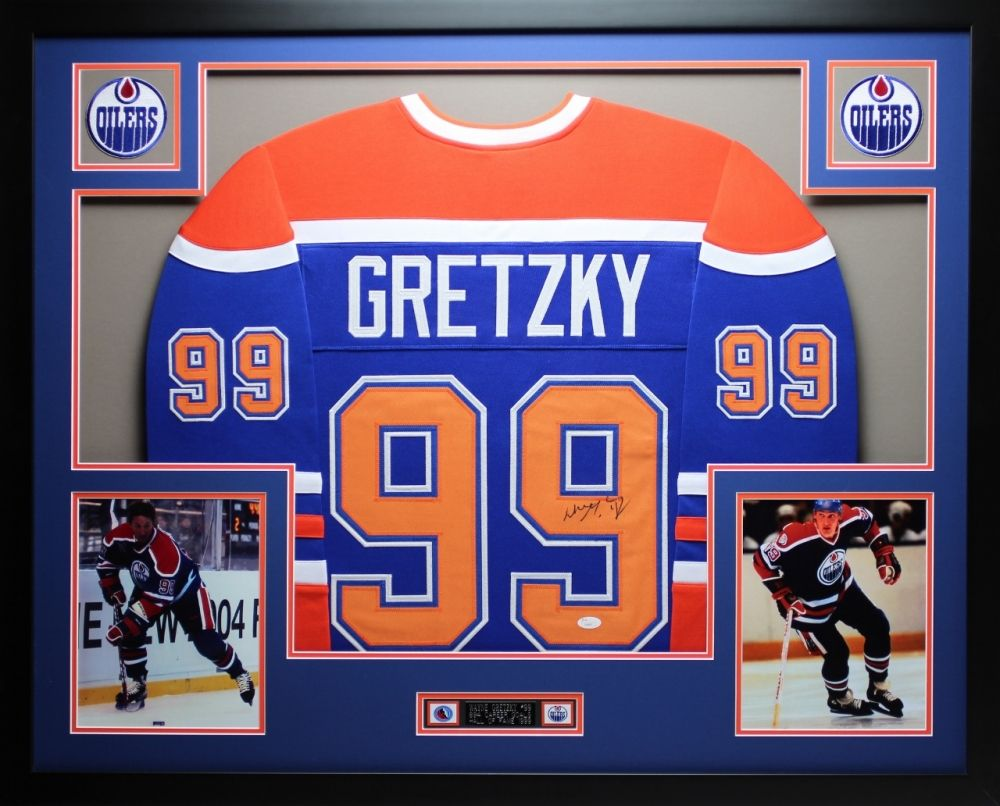 the best attitude 446c5 13061 Wayne Gretzky Signed Oilers 35