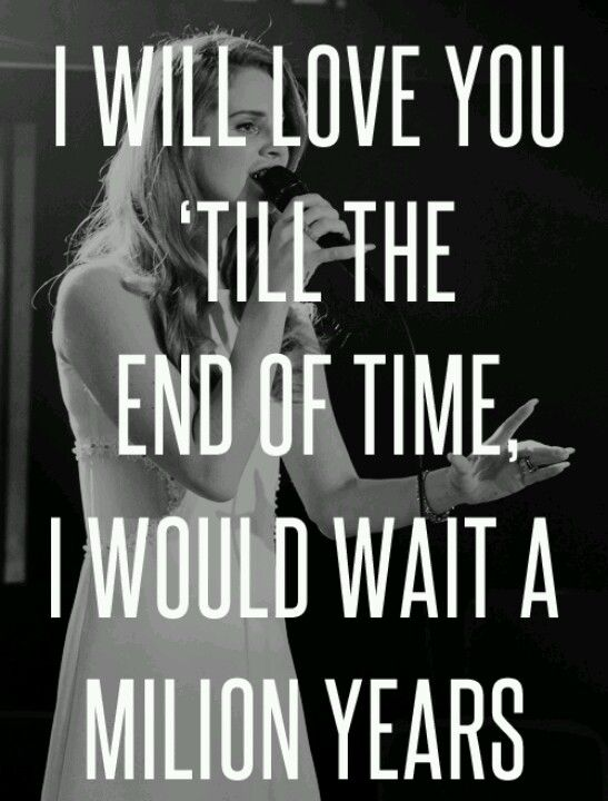 i will love you till the end of time lyrics