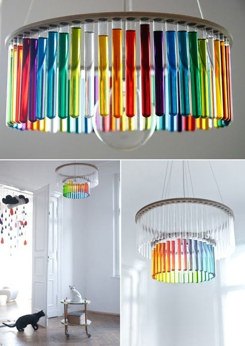 Biology Classroom Decoration ~ Test tube lamp would be a great addition in my future