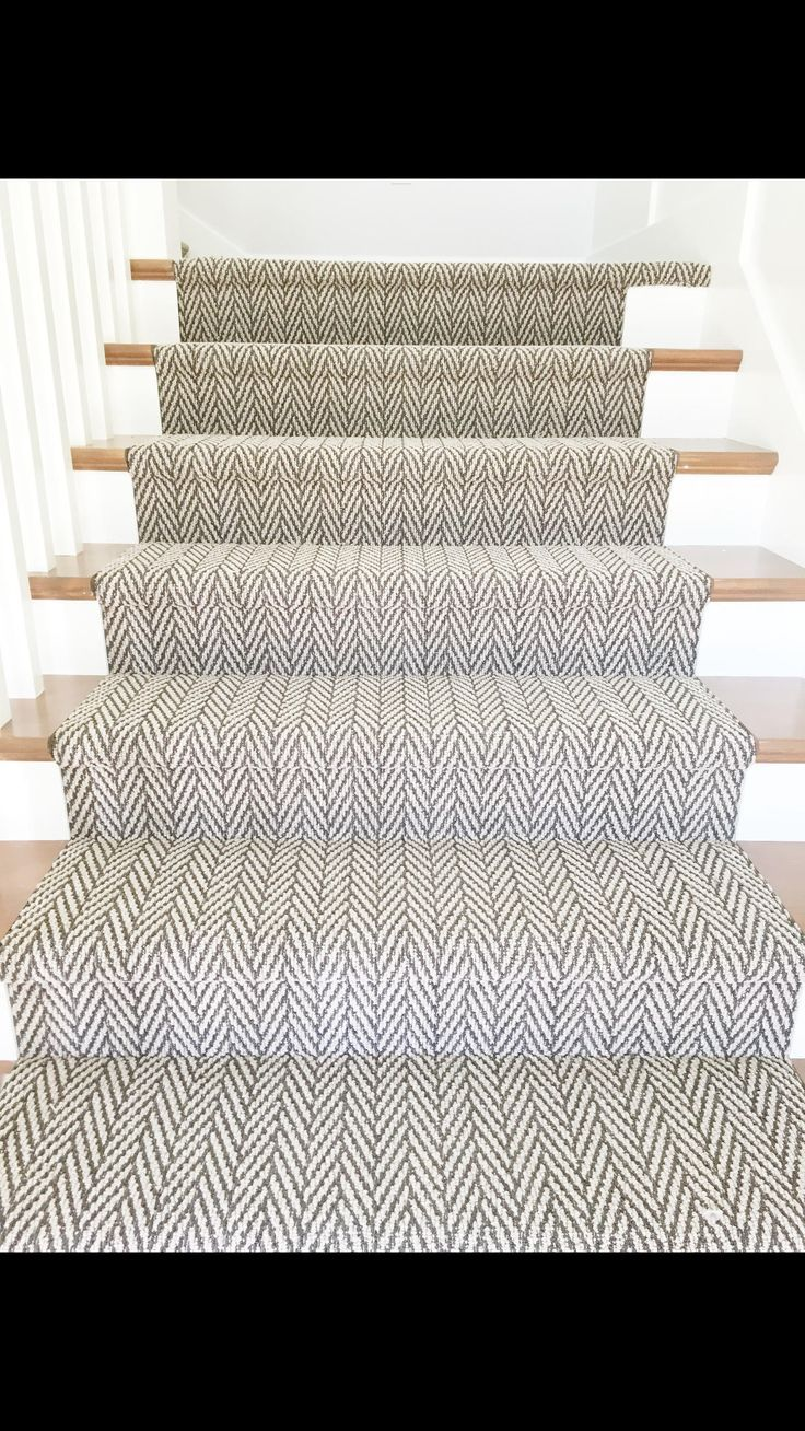 Only Natural Staircase Runner From Tuftex Carpets Of California. Photo  Courtesy Of @emilyadamsondesign