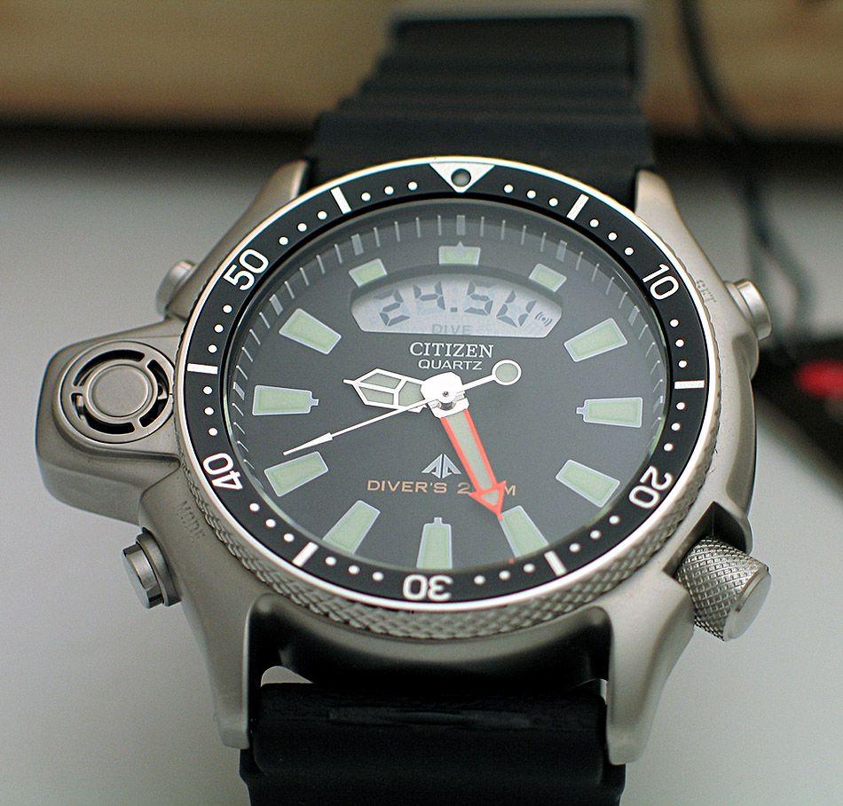 f73b02026fe Citizen ProMaster Aqualand Classic JP2000-08E Relógios Citizen
