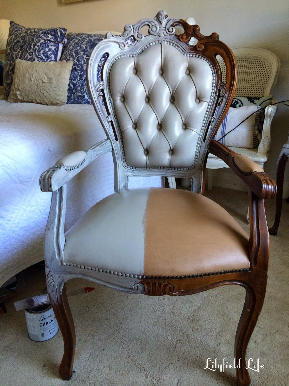 Exceptional How To Paint A Vinyl Chair