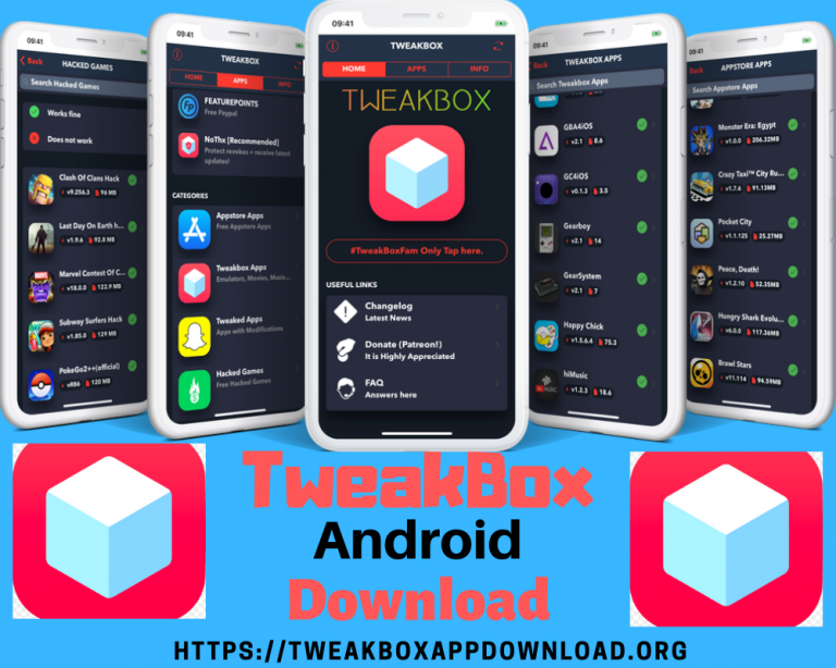 TweakBox for Android 2019 in 2020 Android, Application