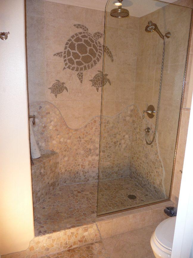 Doorless Tile Showers