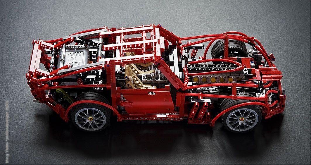 Lego Technic Ferrari 250 Gto A Lego Creation By Ming Thein Mocpages Com Lego Technic Lego Creations Lego