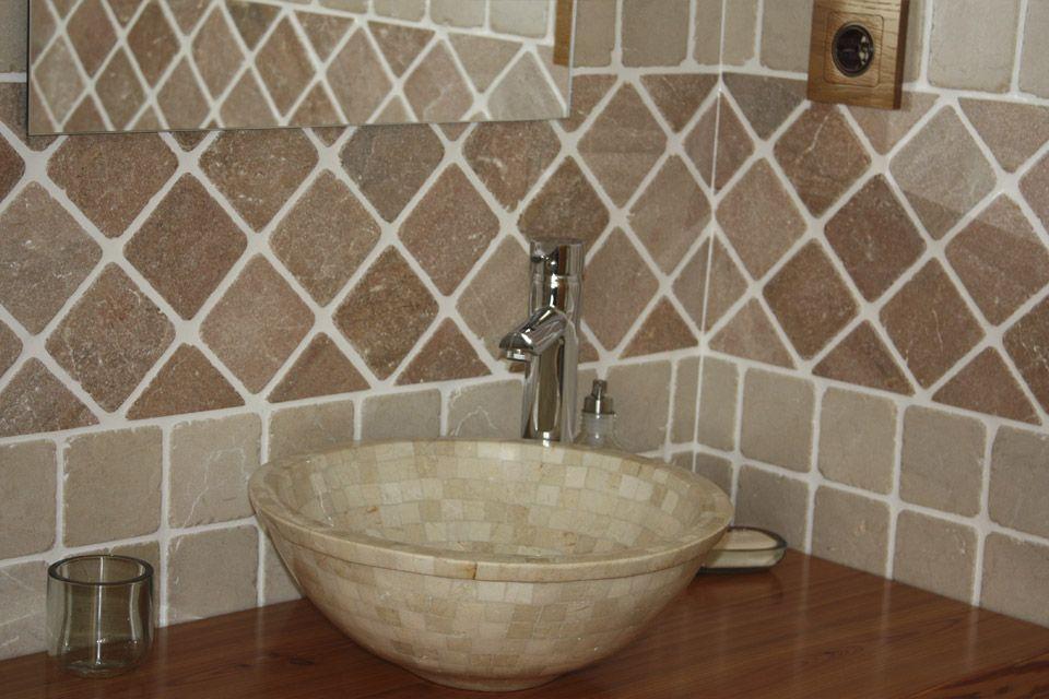 Ba os rusticos mas calidos y acojedores dise amos - Banos rusticos azulejos ...
