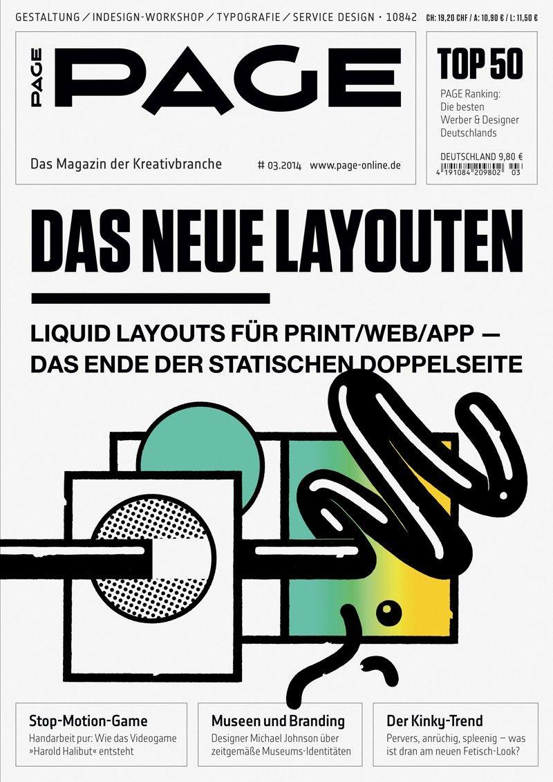 PAGE 3.2014: Das neue Layouten - Stop Motion Game - Museen und ...