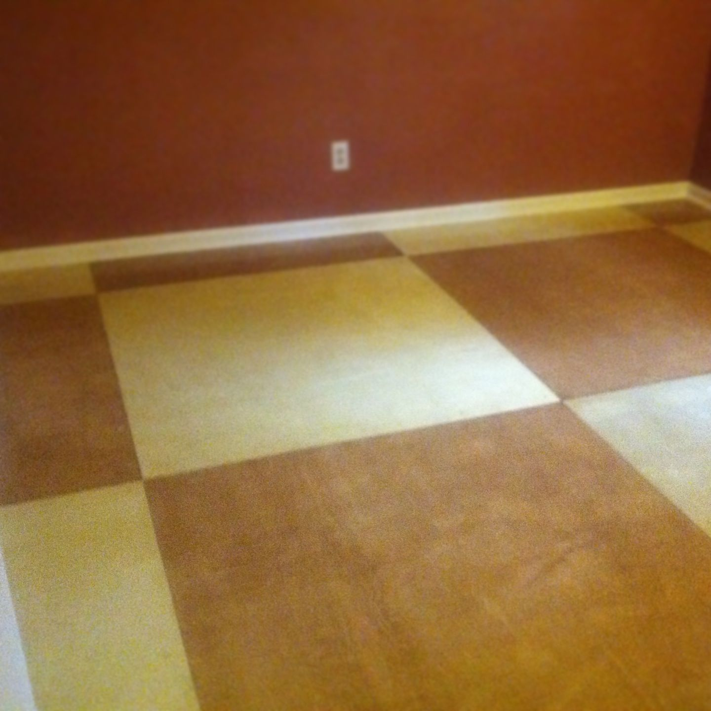 Birch Plywood used to redo bedroom floor. Cost of all