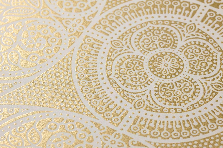 Carta Da Parati Tessuto carta da parati wilderness | gold wallpaper, pattern