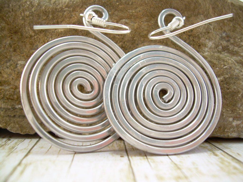Aluminum Wire Earrings