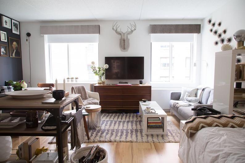 Custom Cornice Minimalist Window Treatments | Small room ...