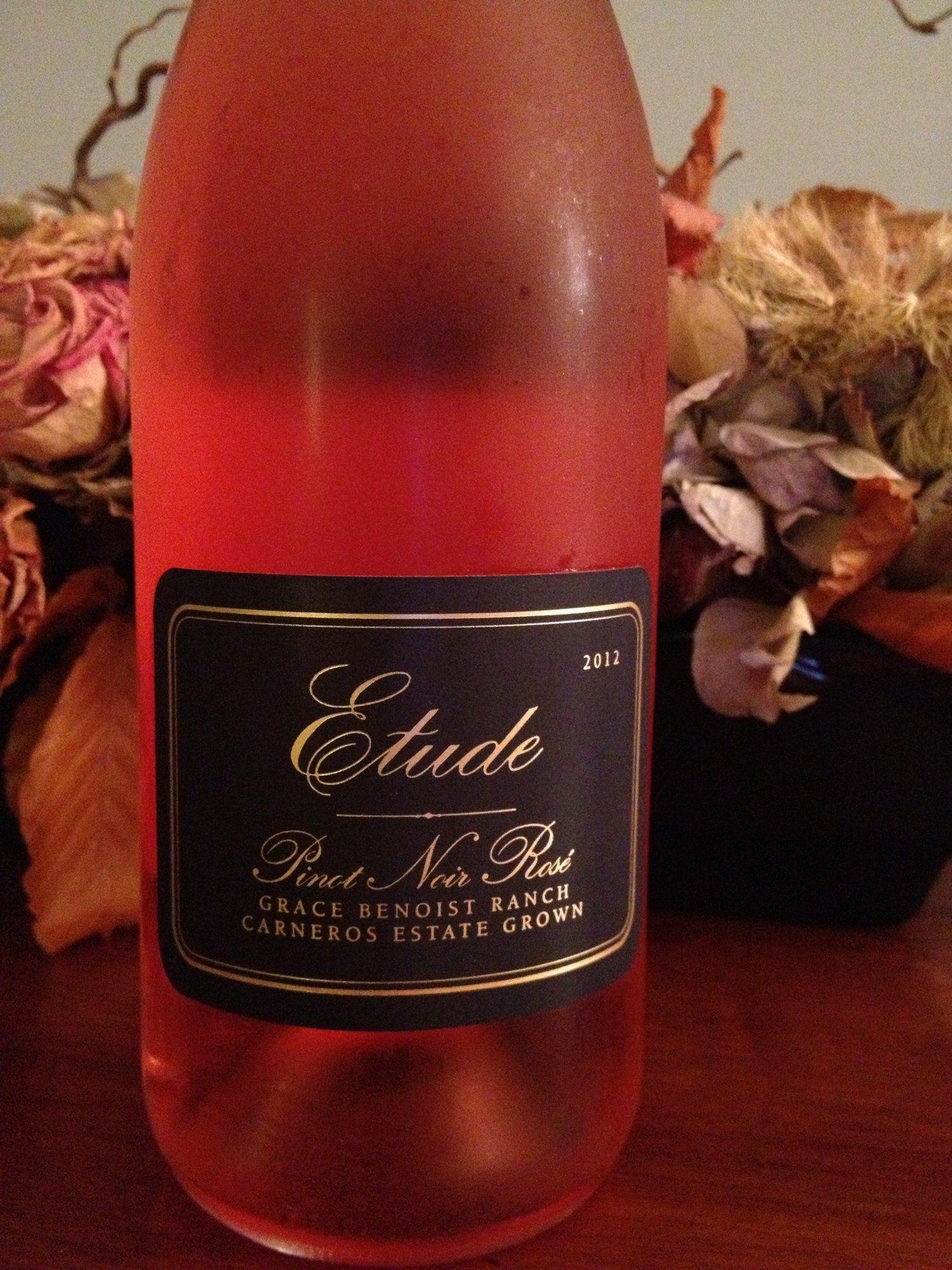 2012 Etude Pinot Noir Rose Pinot Noir Wine Pinot