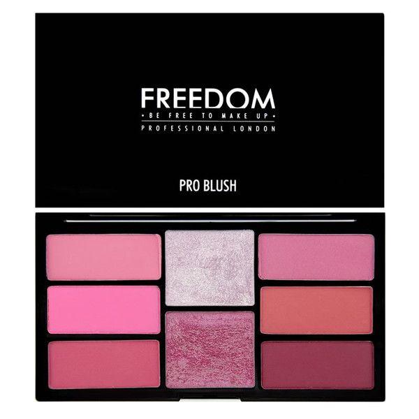 Freedom Pro Blush Palette - Peach Baked