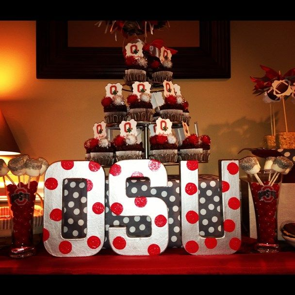 We Heart Parties: Party Details - Ohio State Football ...