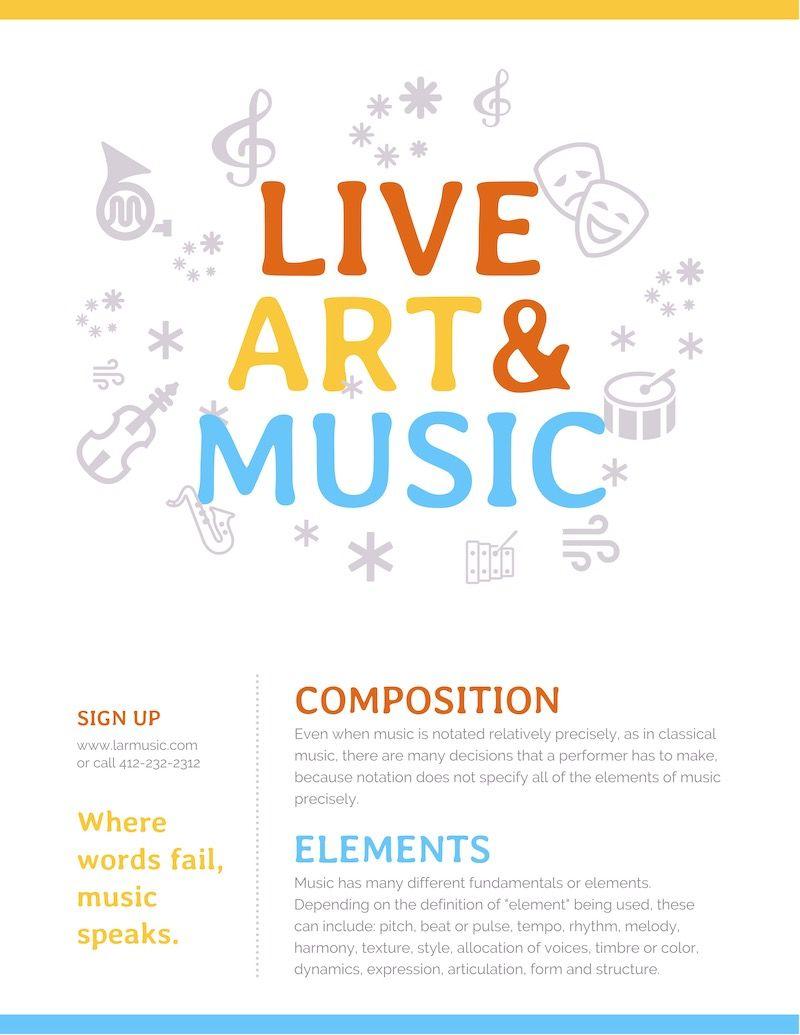 Arts Music Event Poster Event Poster Event Poster Template