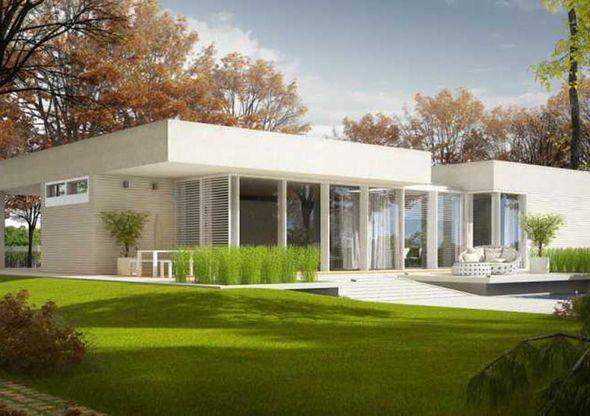 Une maison en ossature bois Architecture
